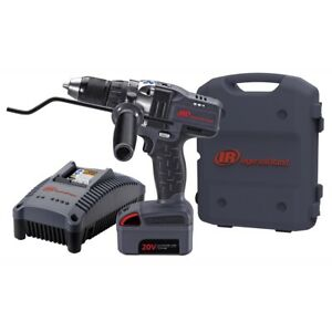 Iqv20 1 2 Drive Cordless Drill Kit With 1 Battery Ingersoll Rand Irtd5140k1