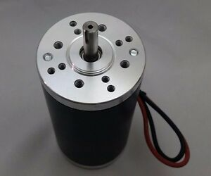 24v dc 10000 rpm Fast Electrical motor Servo Cnc Project 8mm keyed shaft 1 4 hp