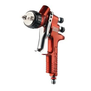 Devilbiss 703675 Tekna Copper Gravity Feed Spray Gun With 1 2 And 1 3 Needle