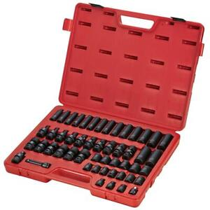 Sunex Tools 3351 3 8 Drive 51 Piece Metric Imp Socket Set