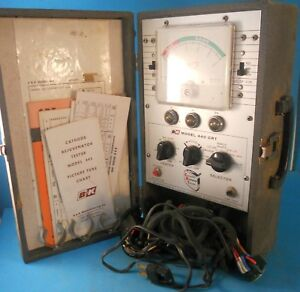 Dynascan B k Precision Model 440 Crt Rejuvenator Tester Vintage Test Equipment