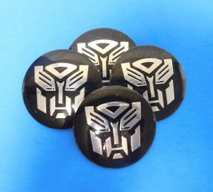 Auto Wheel Center Cap Emblem Badge Decal For Transformers Autobots 56mm 2 2 R7