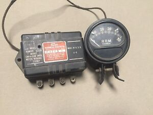 Sun Tach Tachometer Transmitter Eb 7a Rb4 Eb 1950 s Hot Rod Rat Rod Race Gauge