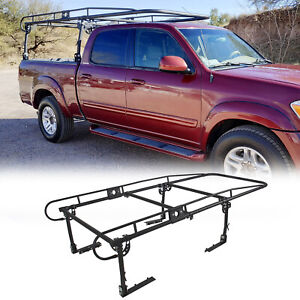 Adjustable Truck Contractor Ladder Rack Pickup Lumber Utility Kayak Rack 1000lbs