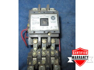 Westinghouse A200m2cacdm Size 2 Motor Starter 120v Coil 1 Year Warranty