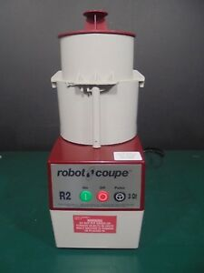 Robot Coupe Food Processors R2c 625 00 Nice 100 Working Condition