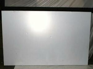 3m Dep7248a 72 x48 Aluminum Frame Dry Erase Board Porcelain as Is 800122835