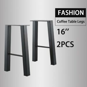 Black 16 Industry Table Leg Metal Steel Chair Bench Legs Diy Furniture