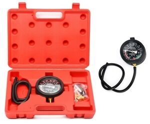 Fuel Pump And Vacuum Tester Gauge Leak Carburetor Pressure Diagnostics W Case