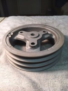 Mapco Crankshaft Pulley Chevrolet 283 327 3 Groove Cast Iron