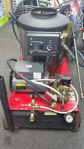 Hotsy 555ss Electric Hot Water Pressure Washer works Great