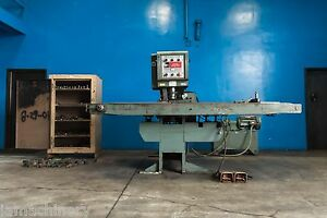 30 Ton Whitney 635a Metal Punch Sheet Metal Deep Throat Fabricator Hydraulic