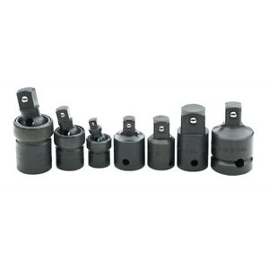Sk Tools 4519 6 Piece Impact Universal Adapter Set