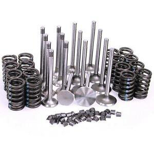 New Intake Exhaust Valves Springs Amc Jeep 250 287 304 With Multi Grove Lock