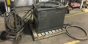 Idealarc R3s 400 Lincoln Arc Welder 3 Phase 230 460v 68 34a W Reel Cart
