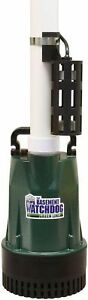 Basement Watchdog 1 2 Hp Submersible Sump Pump Primary Durable Heavy Rain Flood