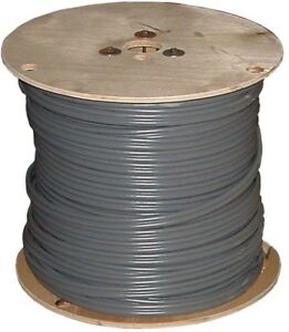 500ft 10 2 Gray Solid Uf b W g Wire Copper Gauge Cable Outdoor Electrical Feeder