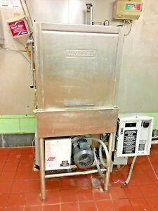 Hobart Commercial Dishwasher With Hot Water Booster 3 Phase