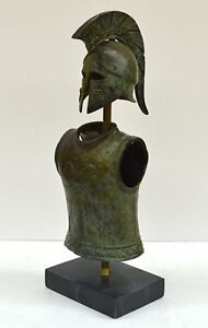 Greek Spartan Corinthian Small Helmet Armor Antique Style Owl Design