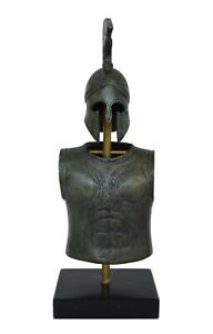 Greek Spartan Corinthian Small Helmet Armor Antique Style Snake