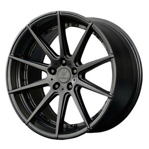 20x10 20x11 5x120 Verde V20 Isignia Satin Black Made For Bmw 5 Series 6 Series 7