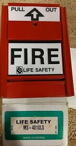 Life Safety Fire Alarm Pull Station Ms 401uls