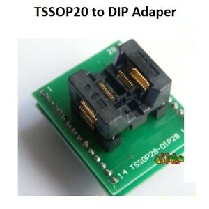 Tssop 20 pin To Dip 20 Ic Adapter Programmer