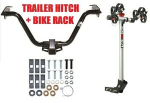 2004 2008 Chrysler Pacifica Trailer Hitch Rola 2 Bike Carrier Rack Combo