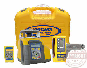 Spectra Precision Gl422n Cr600 Self leveling Dual Slope Laser Level trimble