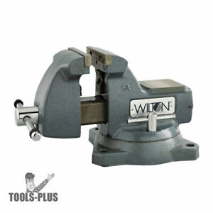 Wilton 21400 Mechanics Vise 5 Width Swivel Base New