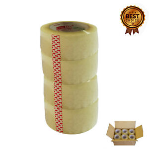 36 Rolls Lot Clear Box Carton Sealing Packing Packaging Tape 2 x110 Yards 330ft