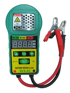 Dlg Di 225 Battery Load Tester Exclusively For Low Capacity From 5ah To 80ah