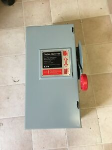 Cutler Hammer Eaton Dh362ugk Safety Switch 60a 3p 600vac 250vdc