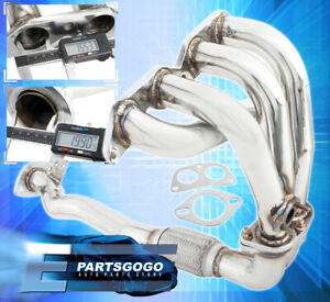 93 94 95 96 97 Toyota Corolla Dx Le 1 8l 4 2 1 Stainless Steel Exhaust Header