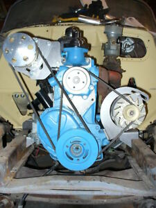 10043 A C Air Conditioning Alternator 1955 62 235 261 Chevy Using 1954 Wp