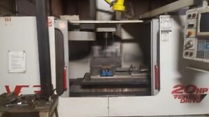 Haas Vf 3 Cnc Vertical Machining Center Year 1999