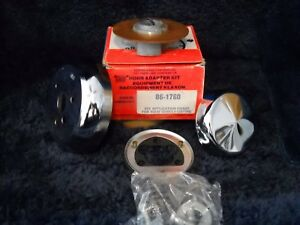 Nos 86 1760 Superior Chrome Steering Wheel Adapter Fits 1982 1987 Mopars