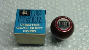 Mk1 Mk2 Mk3 Leyland Mini Cooper S Nos Les Leston Wooden Gear Knob Type 2