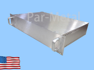 2u Diy All Aluminum Par Metal Rackmount Chassis Enclosure 12 19123n