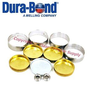 New Cam Bearings Brass Freeze Plug Set Amc Jeep 258 232 199 6 Cylinder