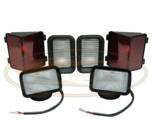 Bobcat Light Kit Lamp Assembly 753 F c Series Skid Steer Head Tail Front Rear
