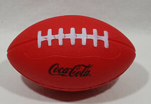 Coca Cola Football Soft Sponge Red with Black Letters 7