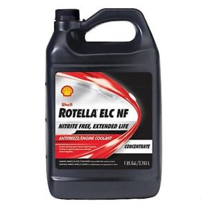 Rotella Elc Nitrite Free Antifreeze coolant Concentrate 6 Gallons