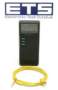 Fluke 51 K j Thermometer W Test Lead Type K J Thermo Meter