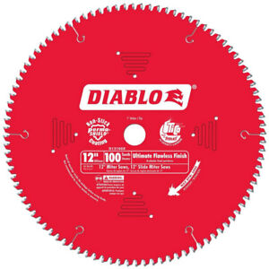 Diablo D12100x 12 x100t Ultimate Flawless Finish Circ Saw Blade New