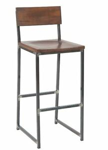 New Steel Barstool Walnut Commercial Restaurant Lounge Seating Furniture 2105 bs