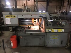 Hydmech M 16a Pivot Mitering Horizontal Band Saw 16 X 25 Year 2000