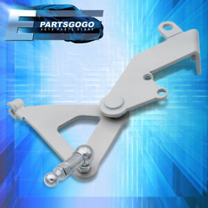 For 88 91 Honda Civic Crx Cable To Hydro Conversion Plate Actuator Mount Bracket