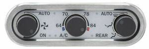 Dakota Three knob Climate Controller For Vintage Air Gen Iv Dcc 3000 New