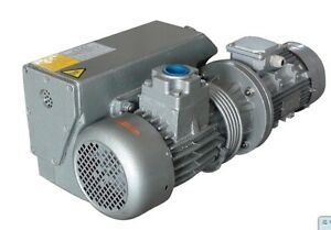 23 5cfm 2hp A c Oil Sealed Rotary Vane Single Stage Air Suction Vacuum Pump